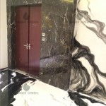 Entrance - resin wall coatings and floor
