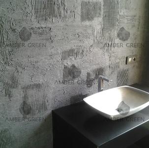 Bathrom resin flooring, panels and walls