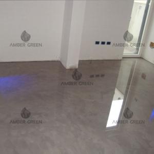 Home – living room resin floor