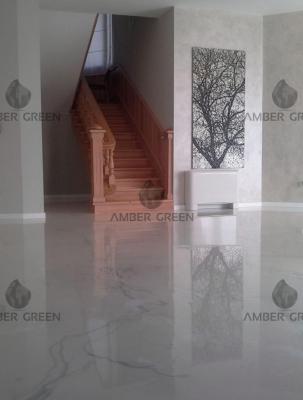 Home – living room, entrance & kitchen