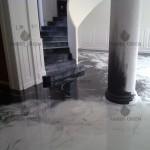 resin floor living room